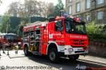 Essen/177004/rw-2-von-der-feuerwehr-essendas-fahrzeug RW-2 von der Feuerwehr Essen. Das Fahrzeug hat einen Heckladekran. Stationiert ist der RW auf der Wache 1 in Essen. Aufgenommen beim NRW Tag 2011 in Bonn.