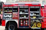 Essen/177005/hier-ist-ein-blick-in-einen Hier ist ein Blick in einen der Geräteräume des RW-2 der Feuerwehr Essen. Aufgenommen beim NRW Tag 2011 in Bonn.