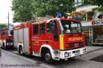 Euro Fire/146219/tlf-h-1-bo-2644-auf-iveco TLF H-1 (BO 2644) auf Iveco Euro Fire mit Magirus Aufbau. Aufgenommen in der Bochumer City am 28.5.2011.